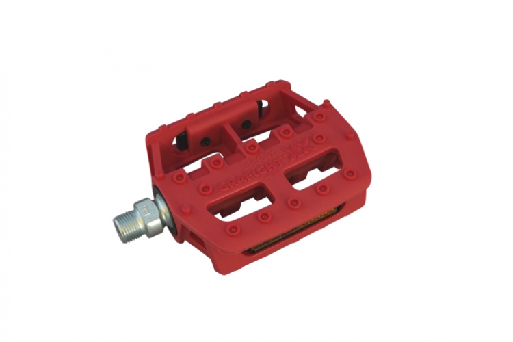 MKS PEDAL GRAFIGHT-XX RED
